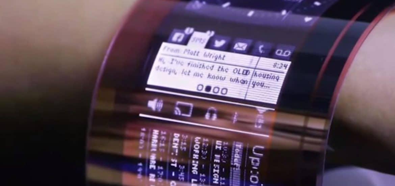 Téléphone à écran flexible